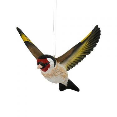 DecoBird - Fliegender Stieglitz