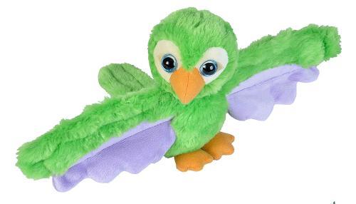 Wild Republic - Huggers - Papagei grün