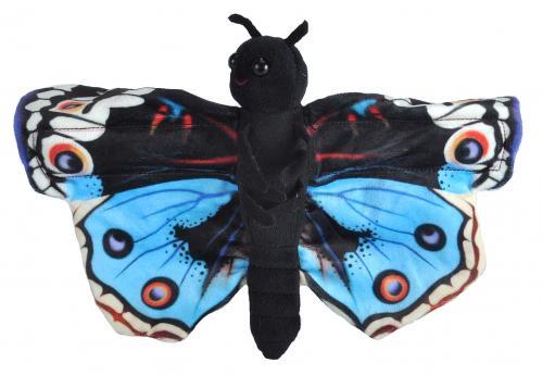 Wild Republic - Huggers - Schmetterling Blue Pansy