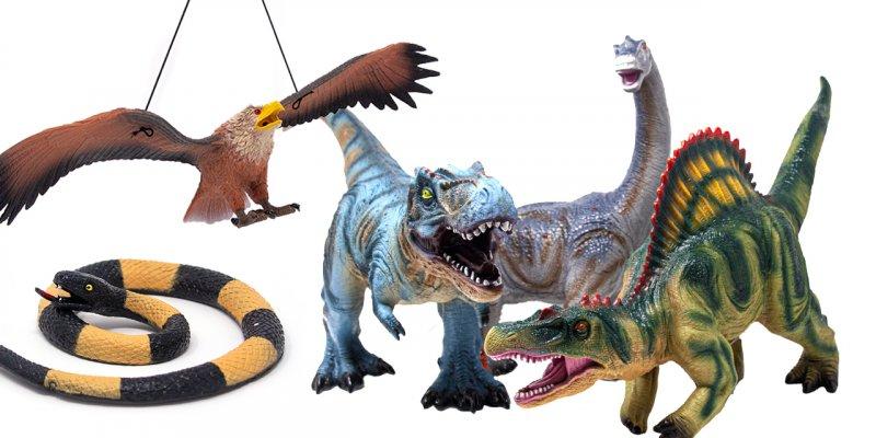 Tier- und Spielfiguren
