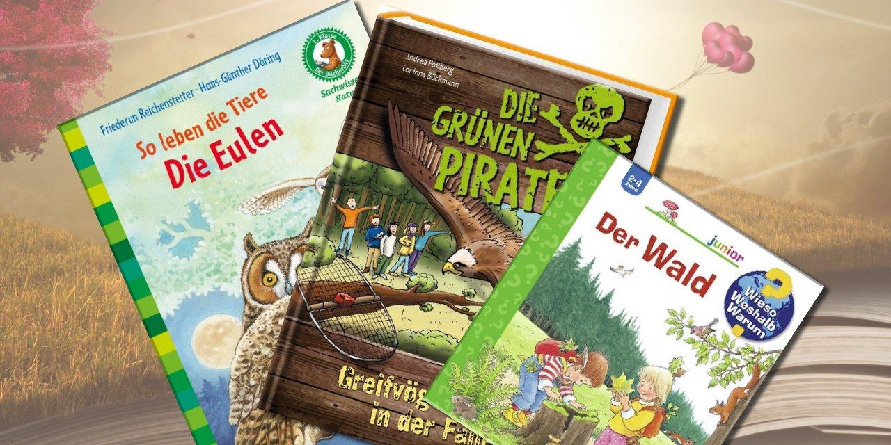 Entdecke unsere tierischen Kinderbücher,...