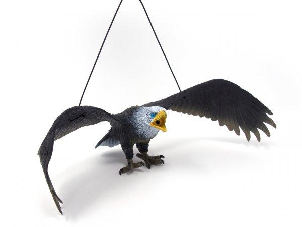 Spieltier mit Hängeband - Adler dunkel