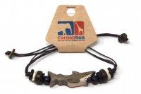 Armband mit Holzmotiv - Hai