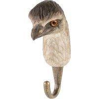 Kleiderhaken aus Holz - Emu