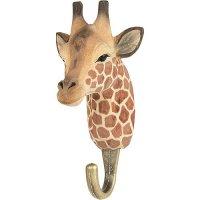Kleiderhaken aus Holz - Giraffe