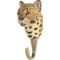Kleiderhaken aus Holz - Leopard