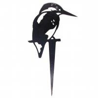 Beetstecker - Eisvogel - Edelrost - 33 cm