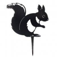 Beetstecker - Eichhörnchen - Edelrost - 23 cm