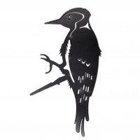 Baumstecker Glücksvogel - Specht - Edelrost - 22 cm