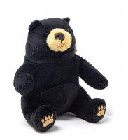 Kuscheltier - Bär schwarz - 17 cm
