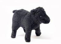 Kuscheltier - Schaf schwarz - 20 cm