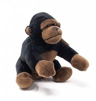 Kuscheltier - Gorilla - 16 cm