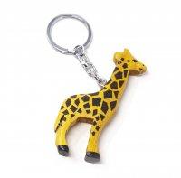 Schlüsselanhänger aus Holz - Giraffe