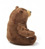 Kuscheltier - Bär braun - 16 cm