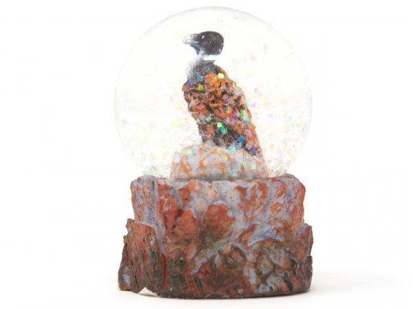 Schneekugel Poly Mini - Geier