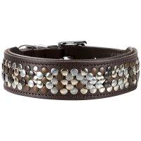 HUNTER Halsband Arizona - Gr. S-M (50), dunkelbraun