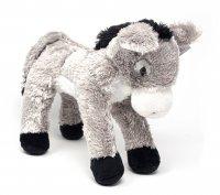 Kuscheltier - Esel grau - 34 cm