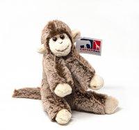 Kuscheltier - Affe sitzend - 16 cm