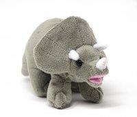 Kuscheltier - Dino - Triceratops - 19 cm