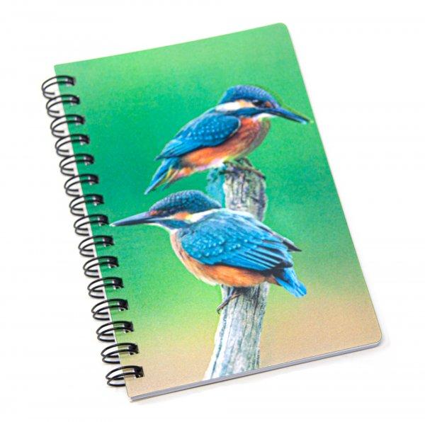 3D Notizbuch - Eisvogel - klein