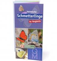 Bestimmungskarte - Heimische Schmetterlinge