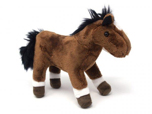 Kuscheltier - Pferd braun - 24 cm