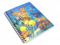 3D Notizbuch - Seaworld - groß