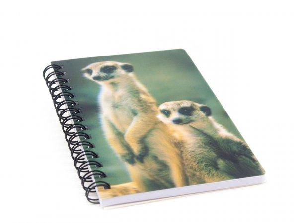 3D Notizbuch - Erdmännchen - klein