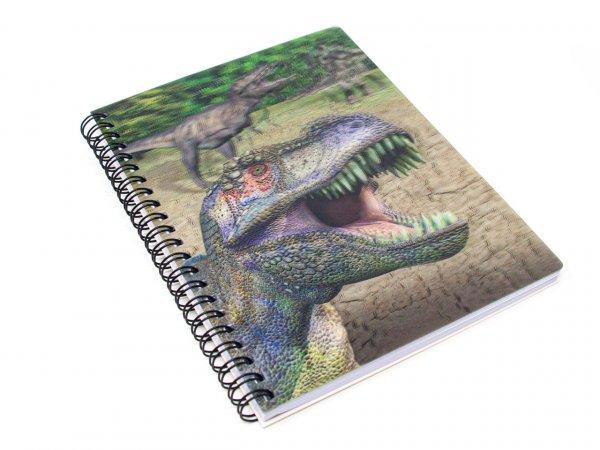 3D Notizbuch - Dinos - groß