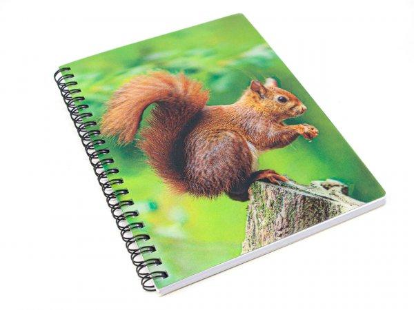 3D Notizbuch - Eichhörnchen - groß
