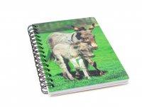 3D Notizbuch - Esel - klein