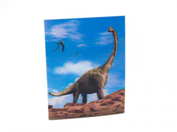 3D Notizblock - Brachiosaurus - mini