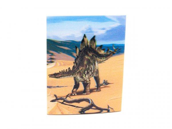 3D Notizblock - Stegosaurus - mini