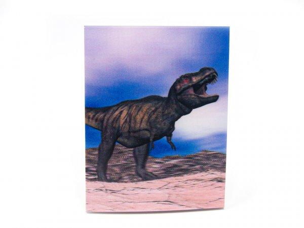 3D Notizblock - T-Rex - klein