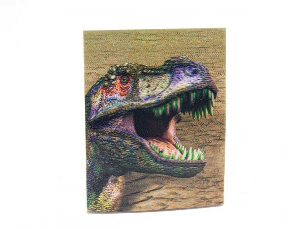3D Notizblock - T-Rex Kopf - klein