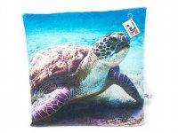 Stoffkissen - Meeresschildkröte - 35x35