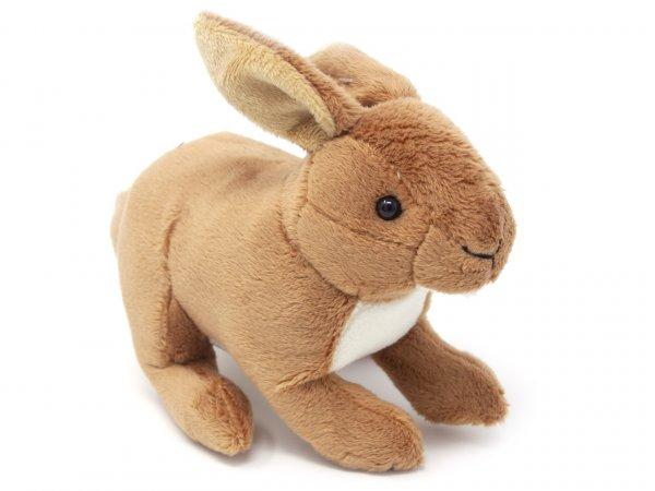 Kuscheltier - Hase braun - 18 cm