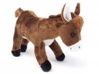 Kuscheltier - Esel braun - 23 cm