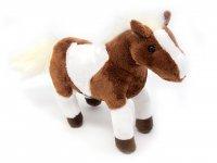Kuscheltier - Western Pferd - braun weiß