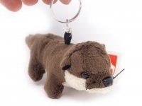 Plüsch Schlüsselanhänger - Otter