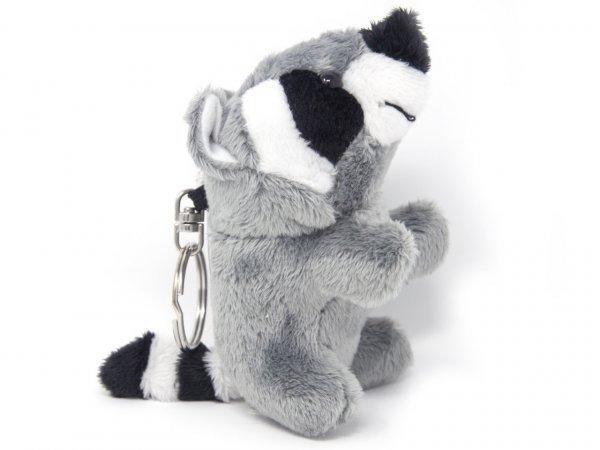 Plüsch Schlüsselanhänger - Waschbär