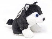 Plüsch Schlüsselanhänger - Hund Husky