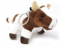 Plüsch Schlüsselanhänger - Kuh