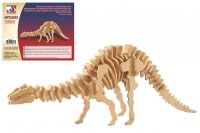 Holz 3D Puzzle - Apatosaurus