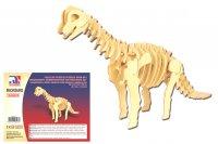 Holz 3D Puzzle - Brachiosaurus