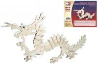 Holz 3D Puzzle - Drache