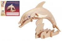 Holz 3D Puzzle - Delfin