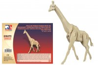 Holz 3D Puzzle - Giraffe