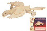 Holz 3D Puzzle - Archaeopteryx