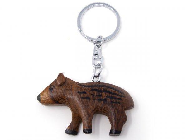 Schlüsselanhänger aus Holz - Frischling